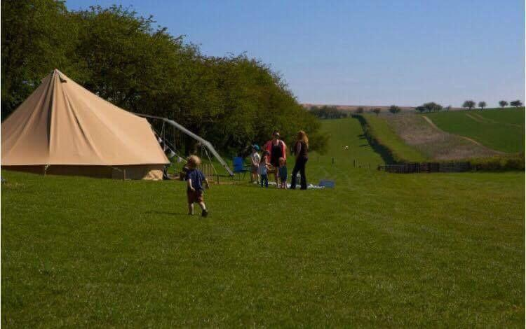 Bell Tents at Humble Bee Farm
