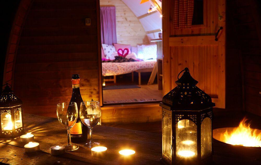 Bespoke Full Glamping Package in a Big Chief Wigwam