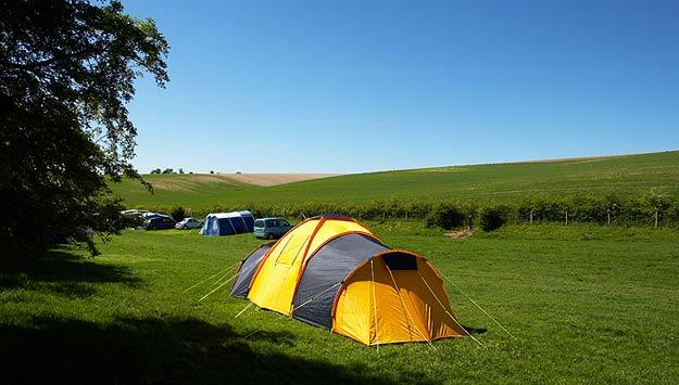 Camping Pitches at Humble Bee Farm