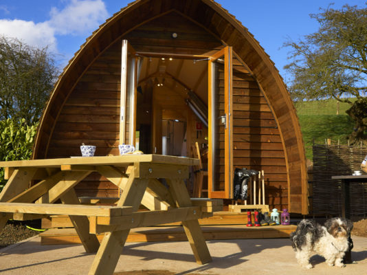 Running Water Deluxe Wigwam® Glamping