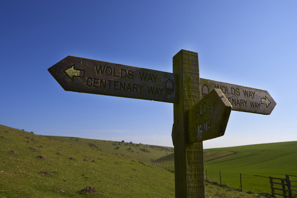 Did you know, you can join the Wolds Way from Humble Bee