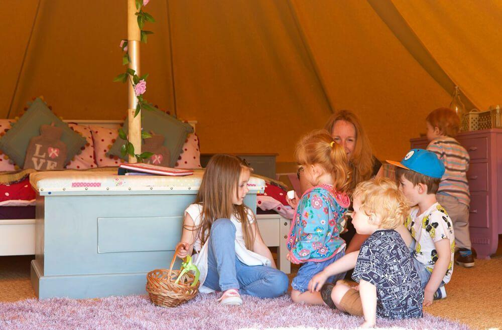 Deluxe Bell Tents at Humble Bee