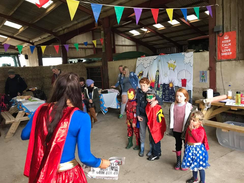 Super Heros 2017 – We have lots of different events at Humble Bee!
