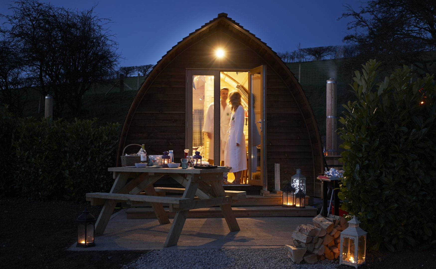 20% OFF glamping accommodation!
