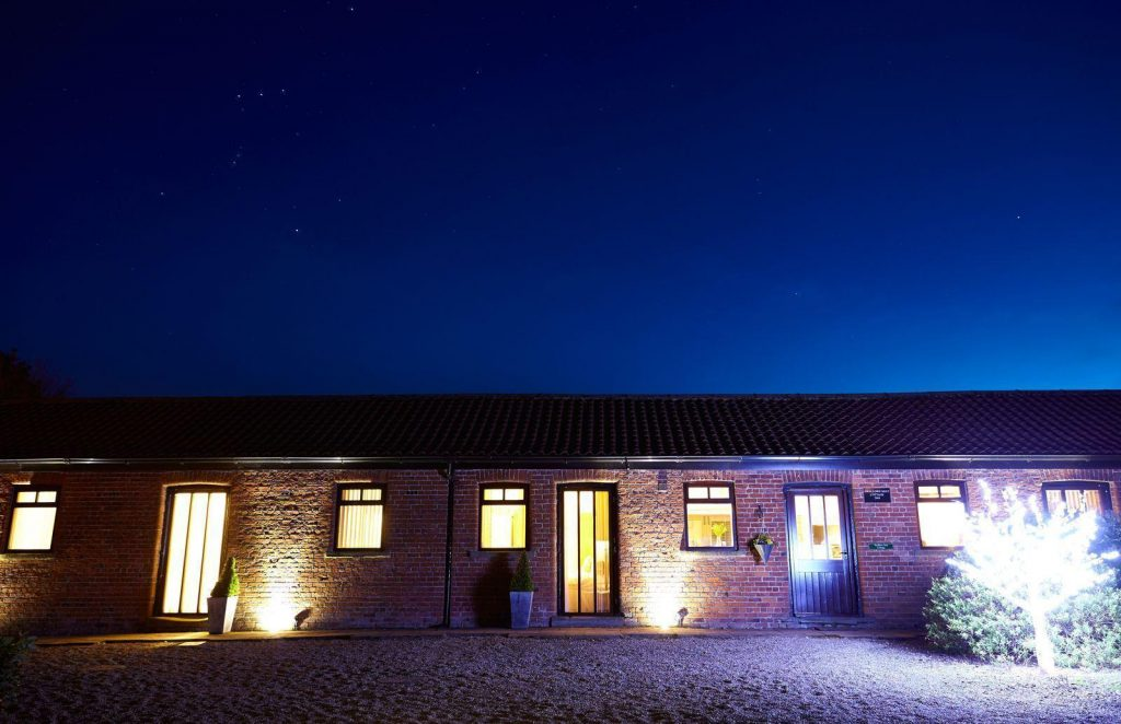 Enjoy self catering luxury at Humble Bee Farm.